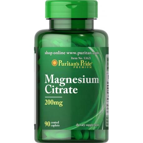 Cytrynian Magnezu 200 mg / 90 tabletek