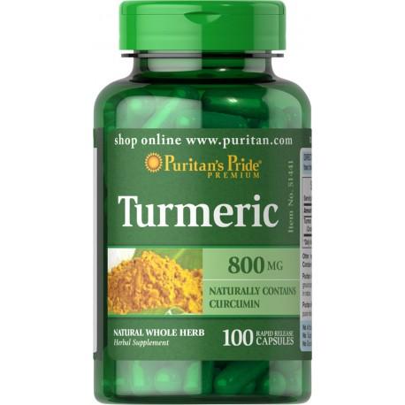 Kurkuma 800 mg / 100 kaps
