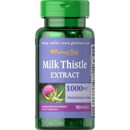 Ostropest Plamisty 1000 mg / 90 kaps