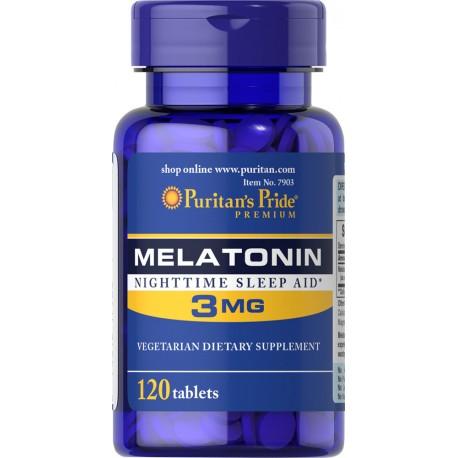 Melatonina 3 mg / 120 tab