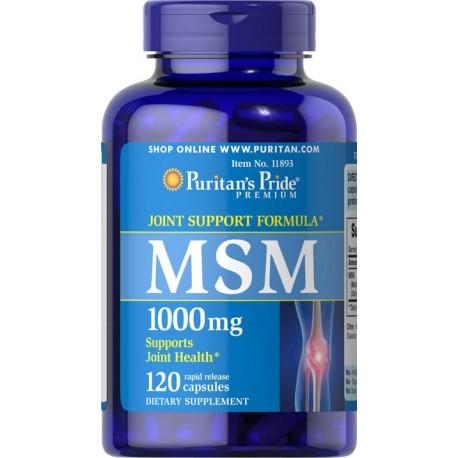 MSM 1000 mg / 120 kaps