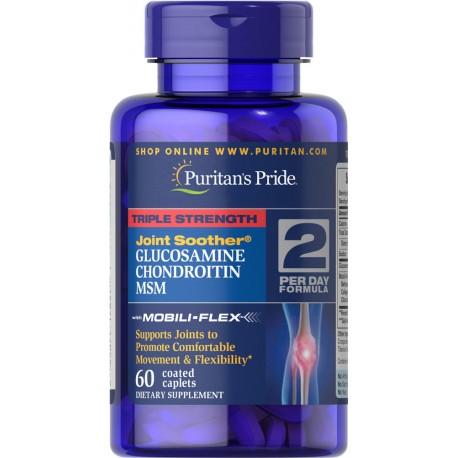 Potrójna siła - Glukozamina, Chondroityna, Msm