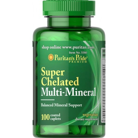 Multi Minerały Chelatowe 100 tab