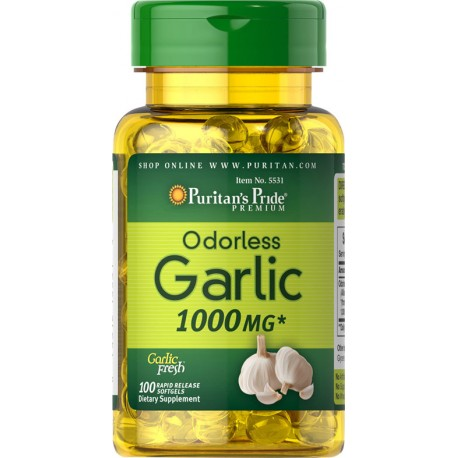 Czosnek Bezzapachowy 1000 mg / 100 kaps
